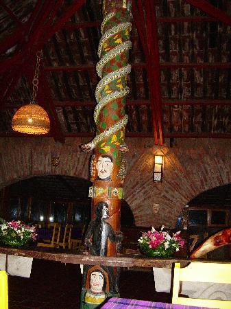 Hotel Las Cabanas de Apaneca: Ristorante1