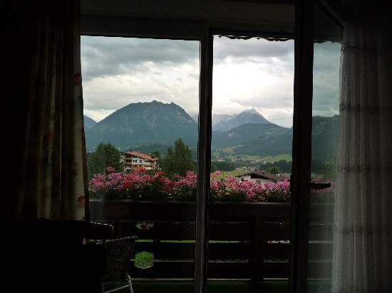 Pension Talblick: Vue chambre