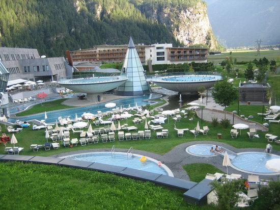 Langenfeld, Austria: foto estrerno del centro visto dall'alto