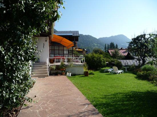 Haus Steininger: Petit déjeuner en terrasse