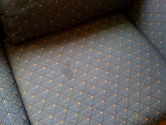 Palos Verdes Inn: couch stains