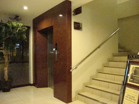 Elevator And Stairs Picture Of Golden Prince Hotel