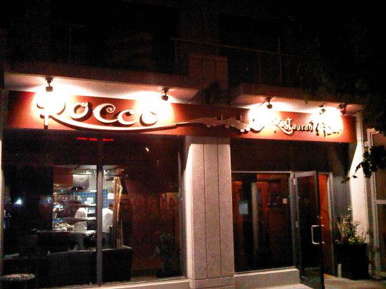 Rocco Restaurant And Bar Toronto Etobicoke Menu