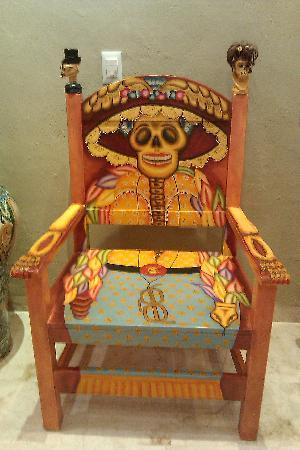 Casa de los Venados : Fantastic chairs