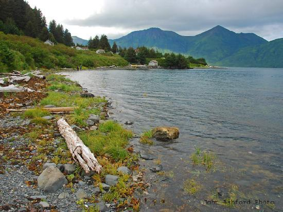 Isla Kodiak, AK: Raspberry Island is home to Raspberry Island Remote Lodge, one of Kodiak's spectacular wildernes