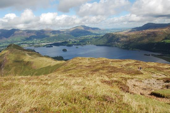 Keswick, UK : Cat Bells and Derwent Water