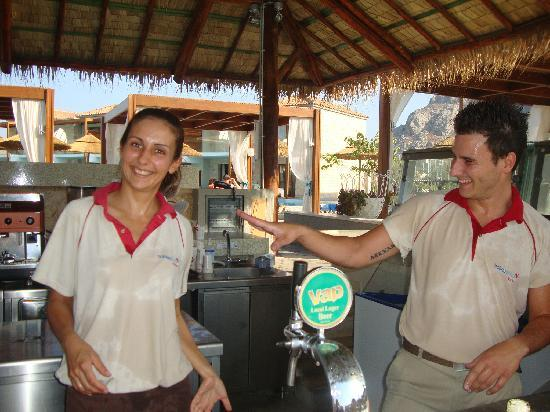 Holiday Village Rhodes: Georgia and Alex poolbar staff amazing people