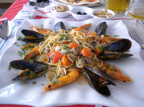 Vitaliano da Cristina: spagetti marinara