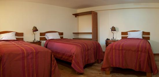 Apu Huascaran Hostal - Cusco: ROOM WHIT 3 BEDSS