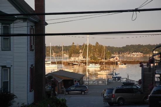 Atlantic Ark Inn: View from our cottage porch