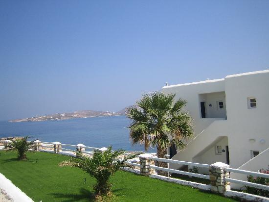 Paros Bay Hotel : Vue de l'hotel