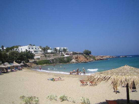 Paros Bay Hotel : La petite plage au pieds de Paros Bay