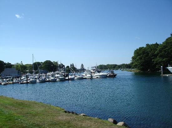 Yachtsman Lodge & Marina: Daytime view from room