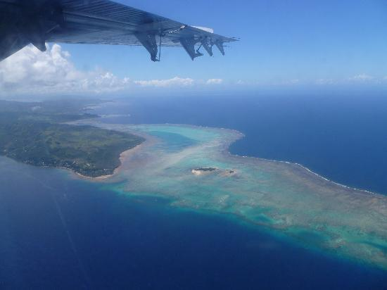 Jean-Michel Cousteau Resort: The resort from the sky