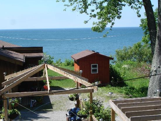 B & B In Port Dalhousie: Aussicht / View from the room