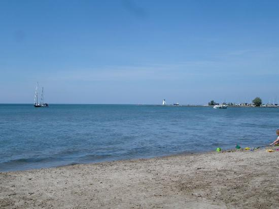 B & B In Port Dalhousie: The beach within 5 min. walk