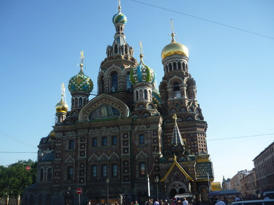 San Petersburgo, Rusia: Spilled Blood
