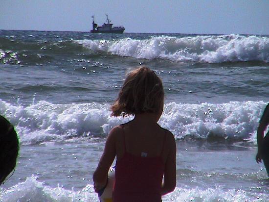 Camping Airotel L'Océan : Les vagues de l'Océan