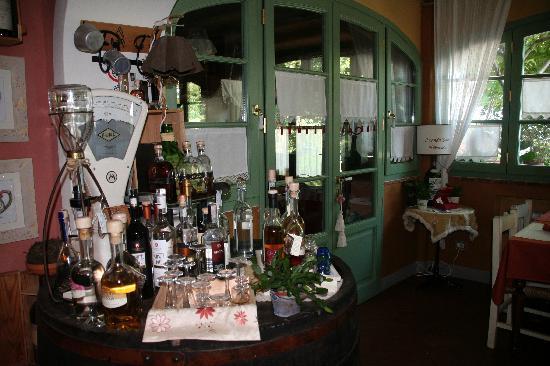 Locanda Zacco: la salle a manger