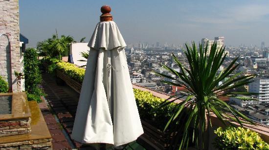 Grande Ville Hotel: Blick von der Dachterasse
