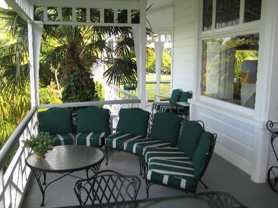 The Masters Lodge: Terrasse