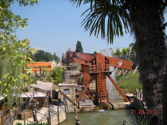 Lazise, อิตาลี: Tomb Raider, una delle attrazioni