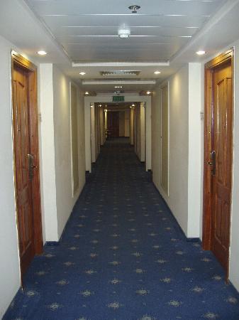 Rimonim Hotel Nazareth: Il corridoio