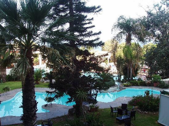 Hotel Calypso : Vista dal terrazzo della camera
