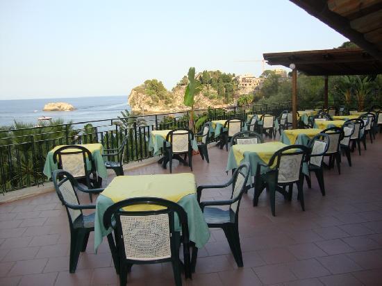 Hotel Baia delle Sirene : La terrazza
