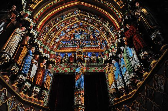 Amiens, France : Son et lumières