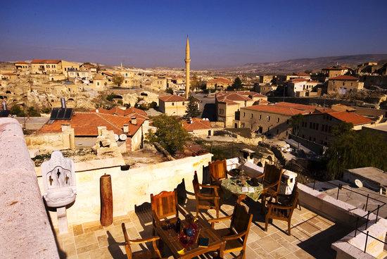Perimasali Cave Hotel - Cappadocia: Perimasali terrace