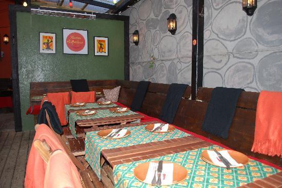 Hotel Maria : Resturandgen på markplan