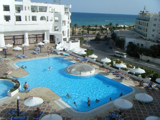Yasmine Beach Resort : la vue de ma chanbre 614