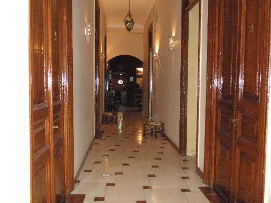 Paris Hotel: ベランダから。