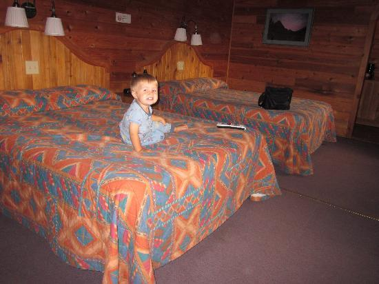 Whistling Swan Motel : Room 8 - spacious and very comfortable