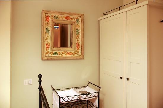Casa Roberta: dettaglio della camera