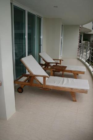 SeaRidge Resort: Balcony