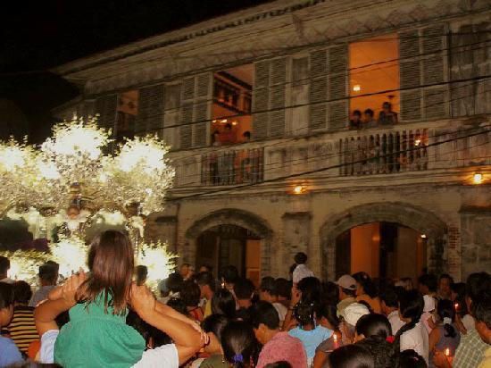 Balay ni Tana Dicang : The Balay looks timeless as the GoodFriday procession passes by. Photo by Juancho Lizares Baylon