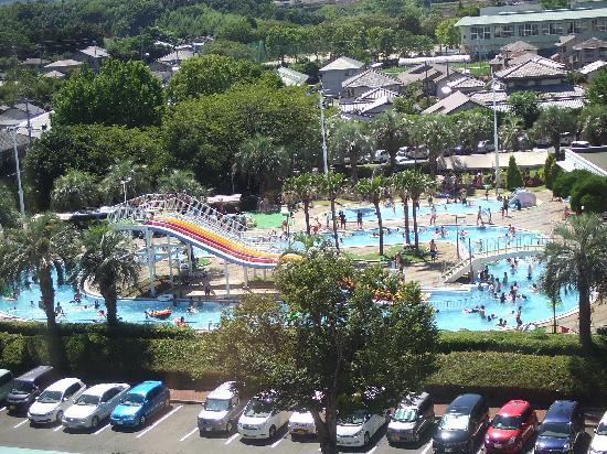 Kikunan Onsen Ubl Hotel: Pool w slide