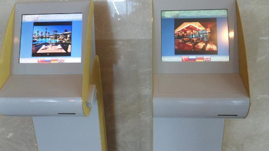 Susesi Luxury Resort : les machines pour reserver les resto toujours en rack