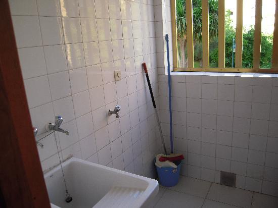 Maria Victoria Apartments: La lavanderia