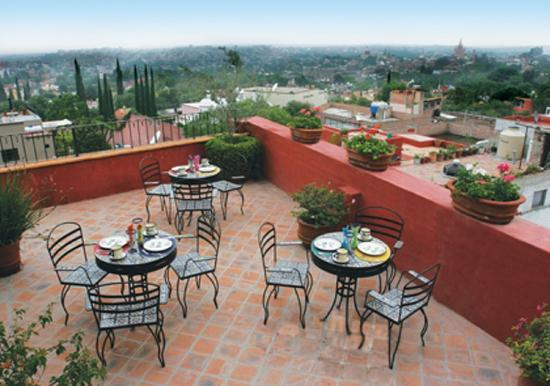 Casa Maria Bed and Breakfast: GREAT VIEWS FROM OUR ROOF TOP TERRACE