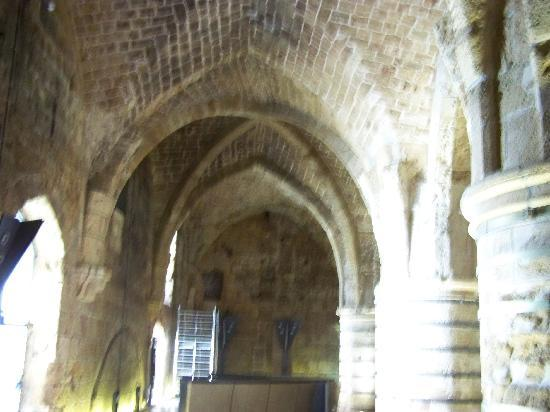 Akko, Israel: Crusader Fort Main hall