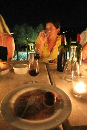 Country House Villa Rey: Amazing food- one of the best chefs in all of Umbria