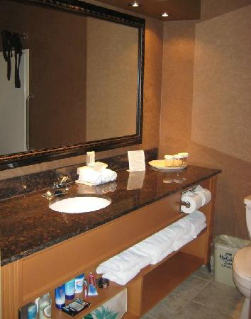 Holiday Inn Express Hotel & Suites Calgary South: Bathroom
