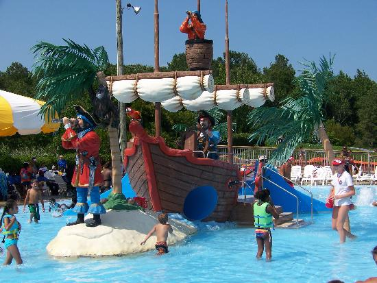 Ocean Breeze Waterpark A Pirate Ship Just Right For Your Little Buccaneers