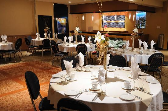 Hotel La Sagueneenne : Salle Le Fjord/ Banquet room
