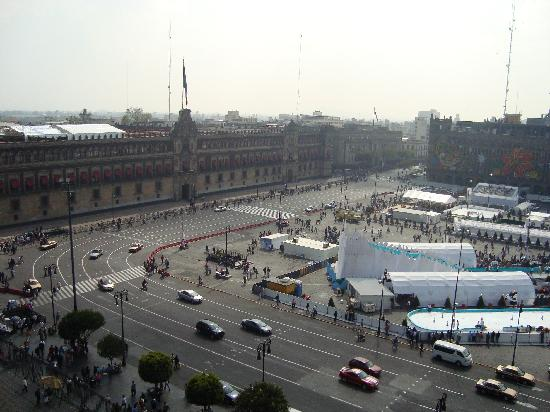 Zocalo : From the Cathedral Tower