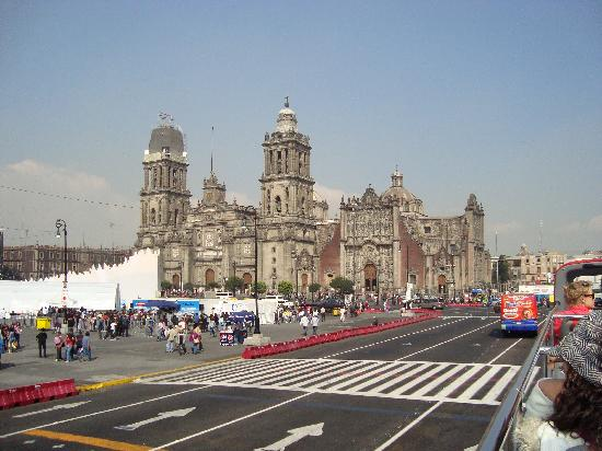 Zocalo : The Cathedral (Biggest in Latin America)