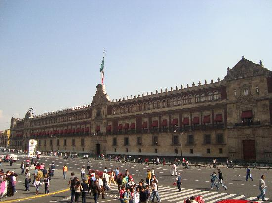 Zocalo: The Government Palace